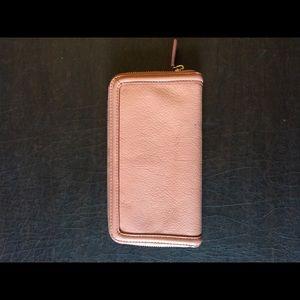 Tory Burch Bags - Peach Tory Burch Continental Wallet